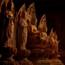 釈迦如来 多宝如来 四菩薩像