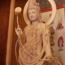 月光菩薩像