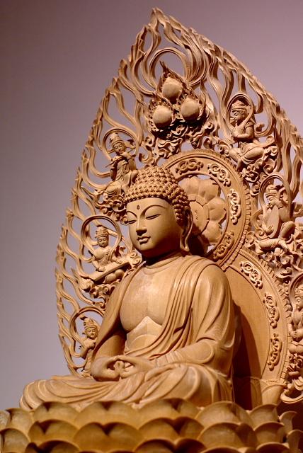 十三仏(じゅうさんぶつ)は、十王をもとに日本で考えられた、冥界の審理に関わる十三の仏である。また十三回の追善供養(初七日~三十三回忌)をそれぞれ司る仏様としても知られ、主に掛軸にした絵を、法要をはじめあらゆる仏事に飾る風習が伝えられる。十三の仏とは、閻魔王を初めとする冥途の裁判官である十王と、その後の審理(七回忌・十三回忌・三十三回忌)を司る裁判官の本地とされる仏である。